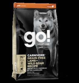 GO! GO! Carnivore DOG GF Lamb and Boar 12lb