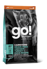GO! GO! Carnivore DOG GF ADULT Chicken, Turkey, Duck 3.5lb
