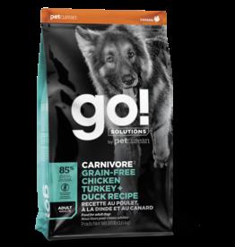 GO! GO! Carnivore DOG GF ADULT Chicken, Turkey, Duck 3.5lb