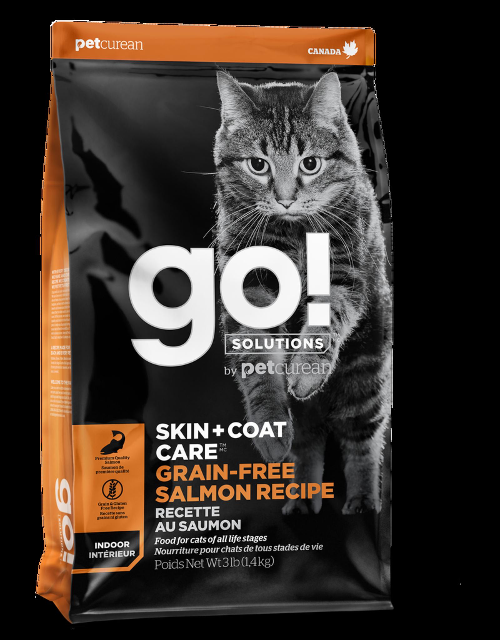 GO! GO! Skin + Coat GF Salmon for Cats 3lb