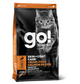 GO! GO! Skin + Coat GF Salmon for Cats 3lb