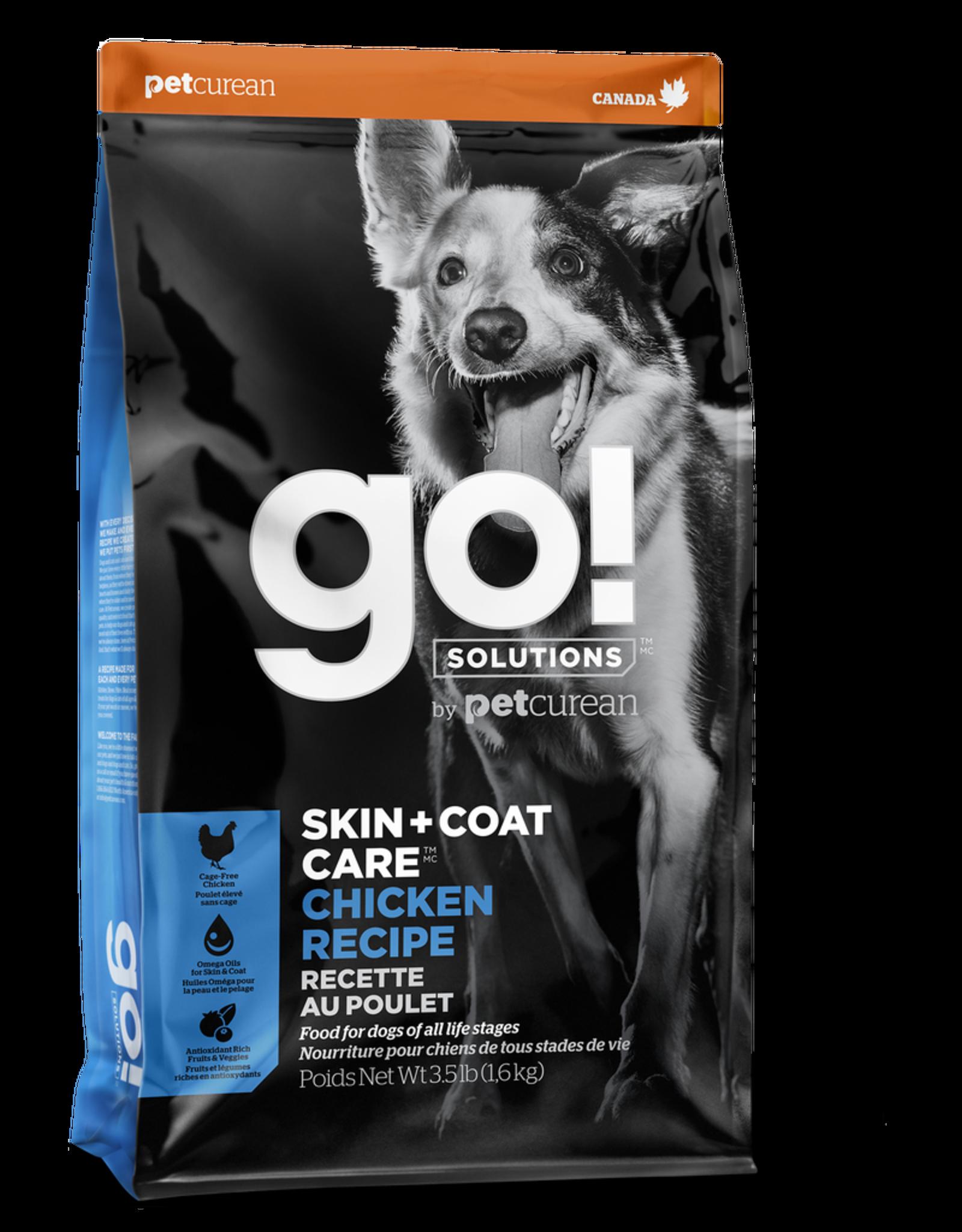 GO! GO! Skin + Coat Chicken for Dogs 3.5lb