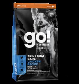 Go! GO! Skin + Coat Chicken for Dogs 12lb