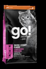 Go! GO! Skin + Coat Chicken for Cats 8lb