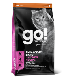 GO! GO! Skin + Coat Chicken for Cats 8lb