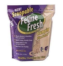 Feline Fresh FELINE FRESH Pine Clumping Litter 6lb