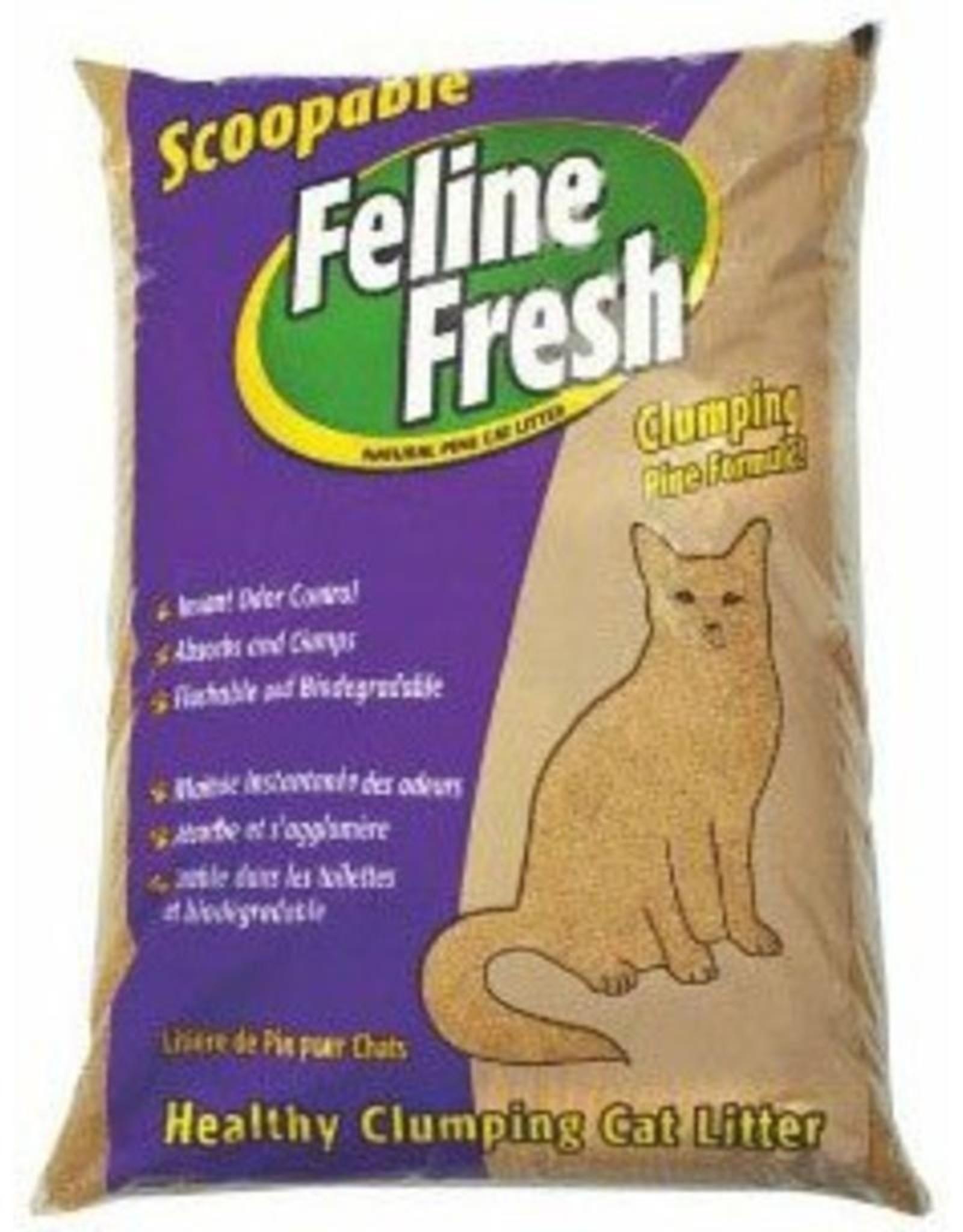 Feline Fresh FELINE FRESH Pine Clumping Litter 34lbs