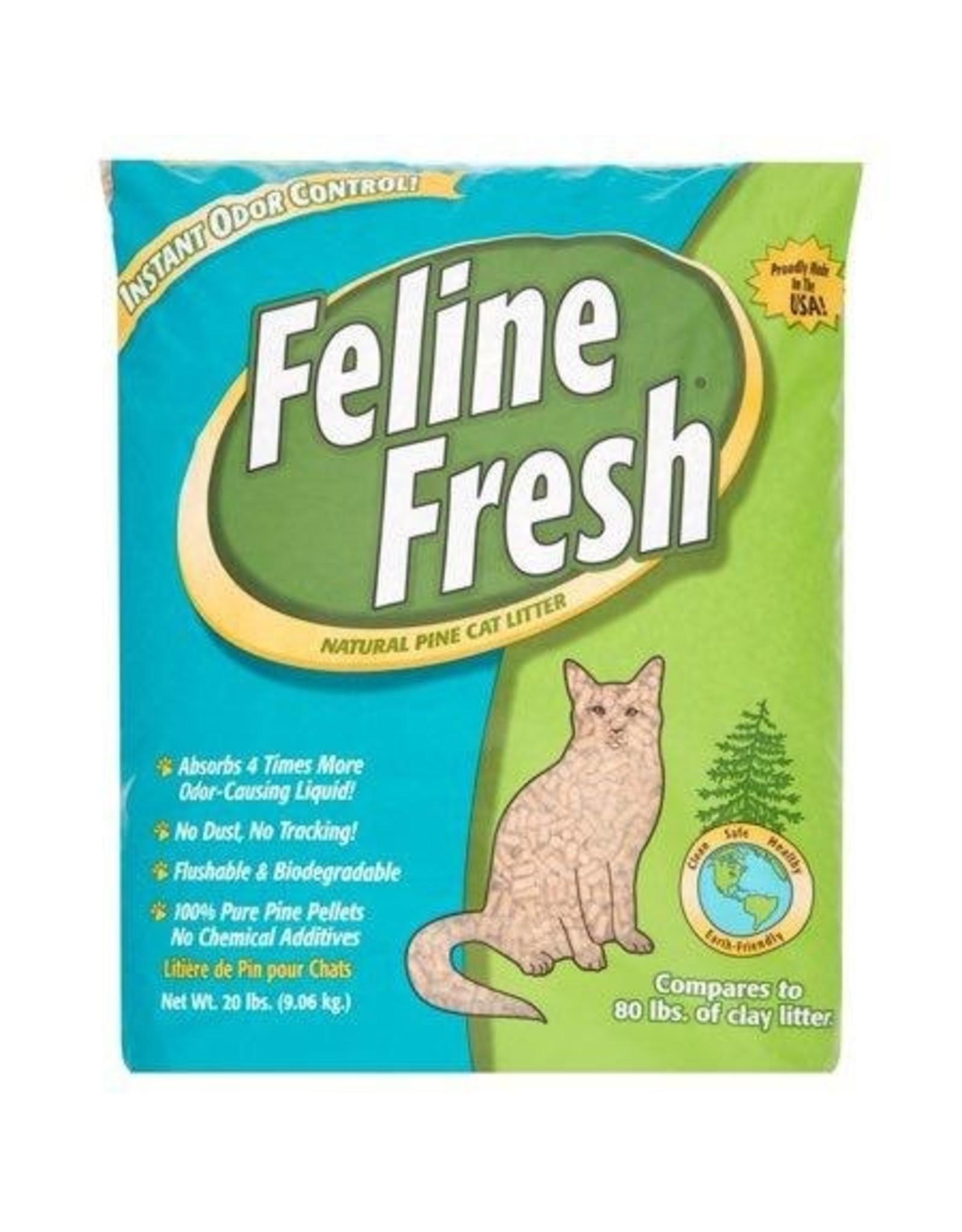 Feline Fresh FELINE FRESH Natural Pine Litter - Pellet 20lb