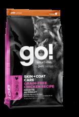 GO! GO! Skin + Coat GRAIN FREE Chicken for Dogs 12lb