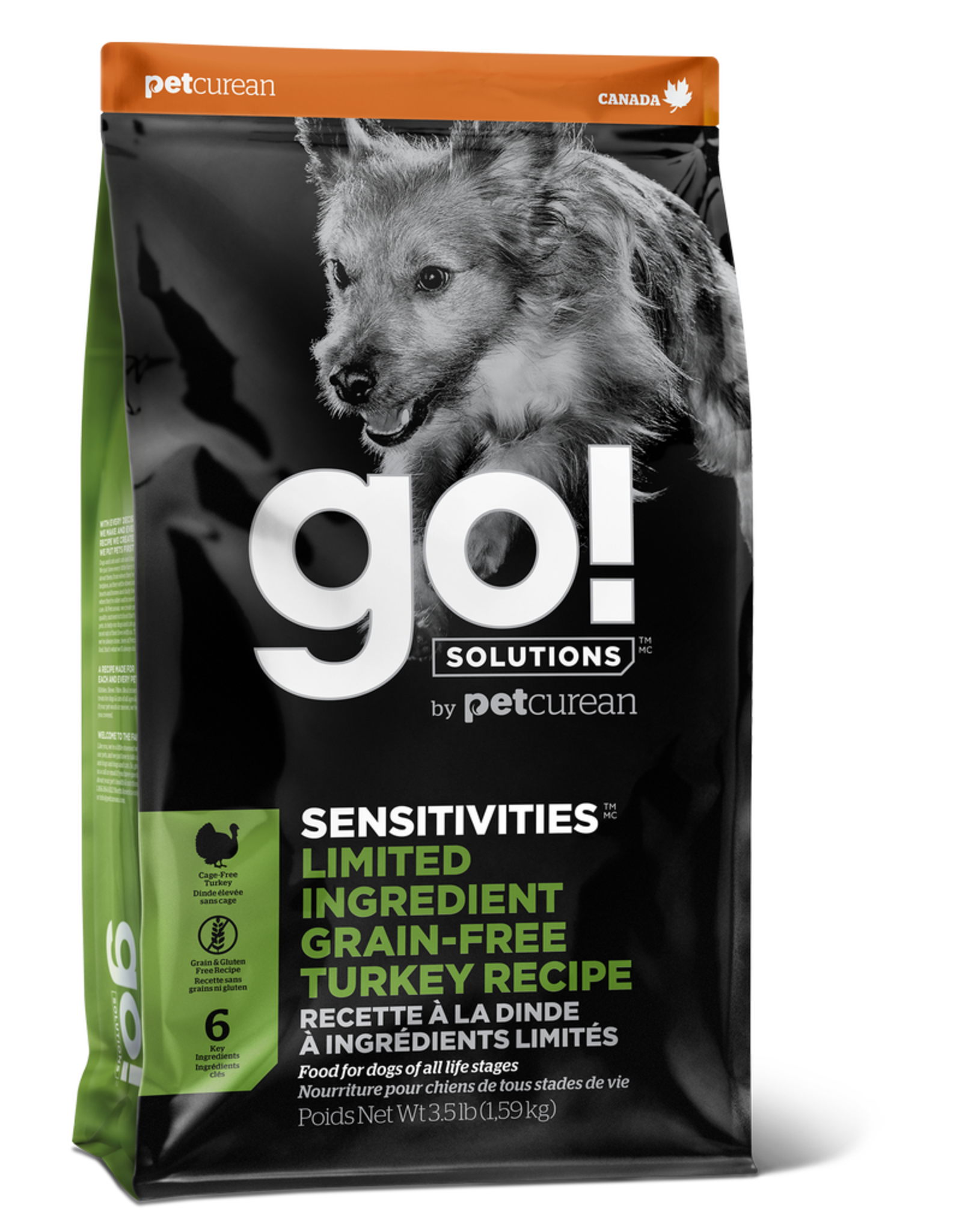 GO! GO! LID Turkey for Dogs 22lb