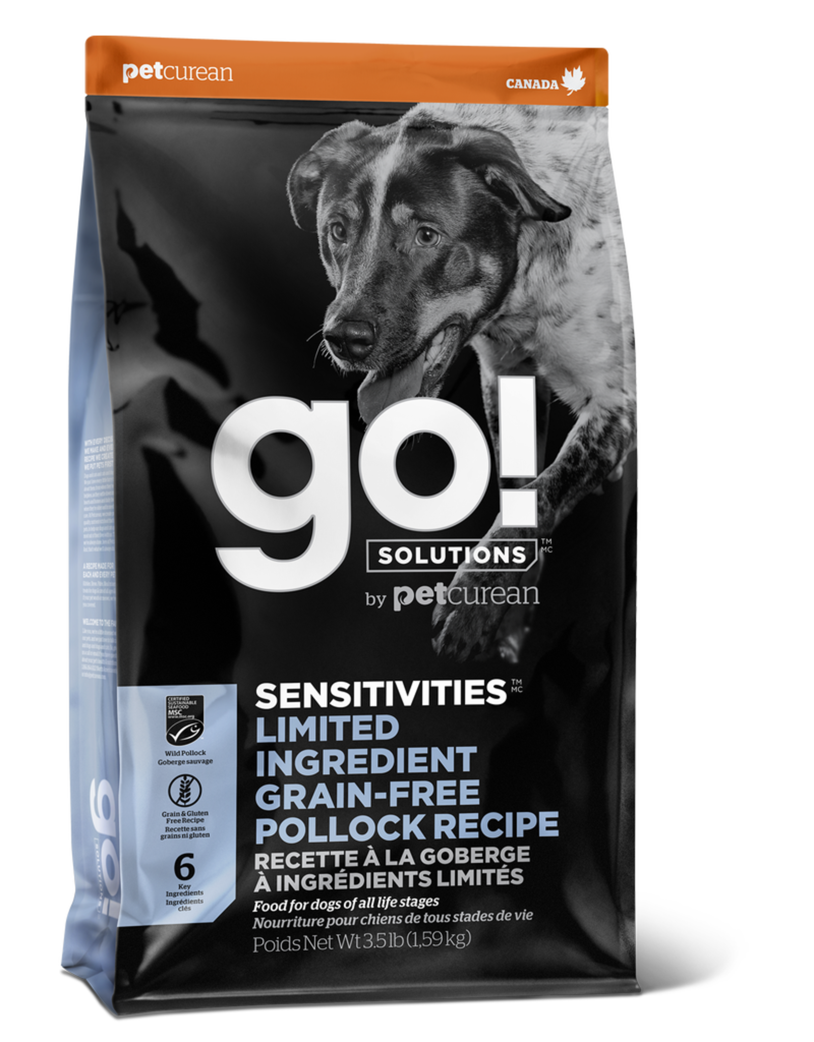 GO! GO! LID Pollock for Dogs 12lb