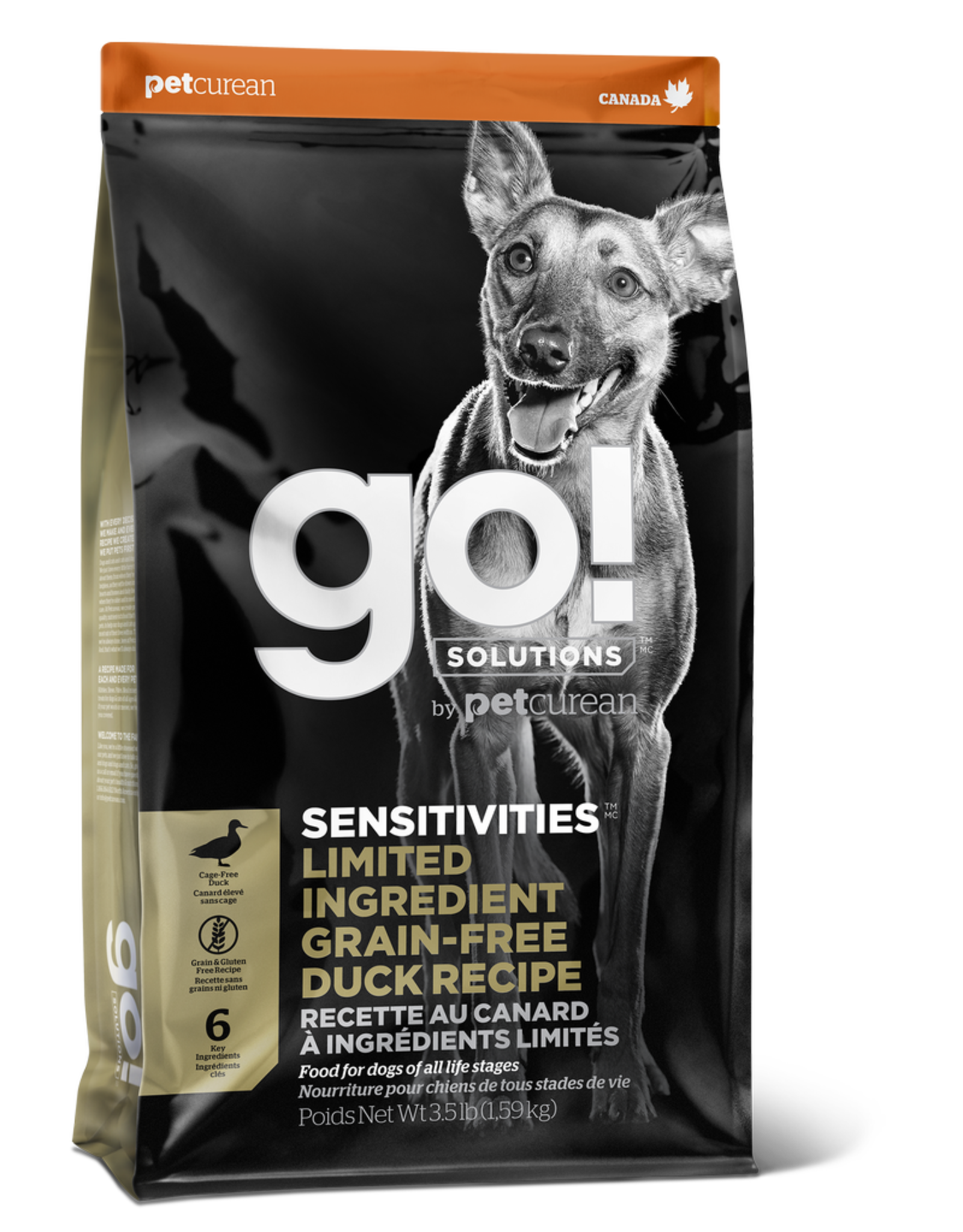 GO! GO! LID Duck for Dogs 3.5lbs