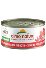 ALMO AlmoNature CAT Natural Chicken Drumstick in Broth 70g
