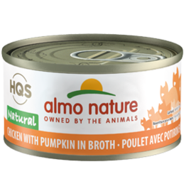 ALMO AlmoNature CAT Natural Chicken w. Pumpkin in Broth 70g
