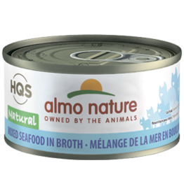 ALMO AlmoNature CAT Natural Mixed Seafood in Broth 70g