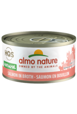 ALMO AlmoNature CAT Natural Salmon in Broth 70g