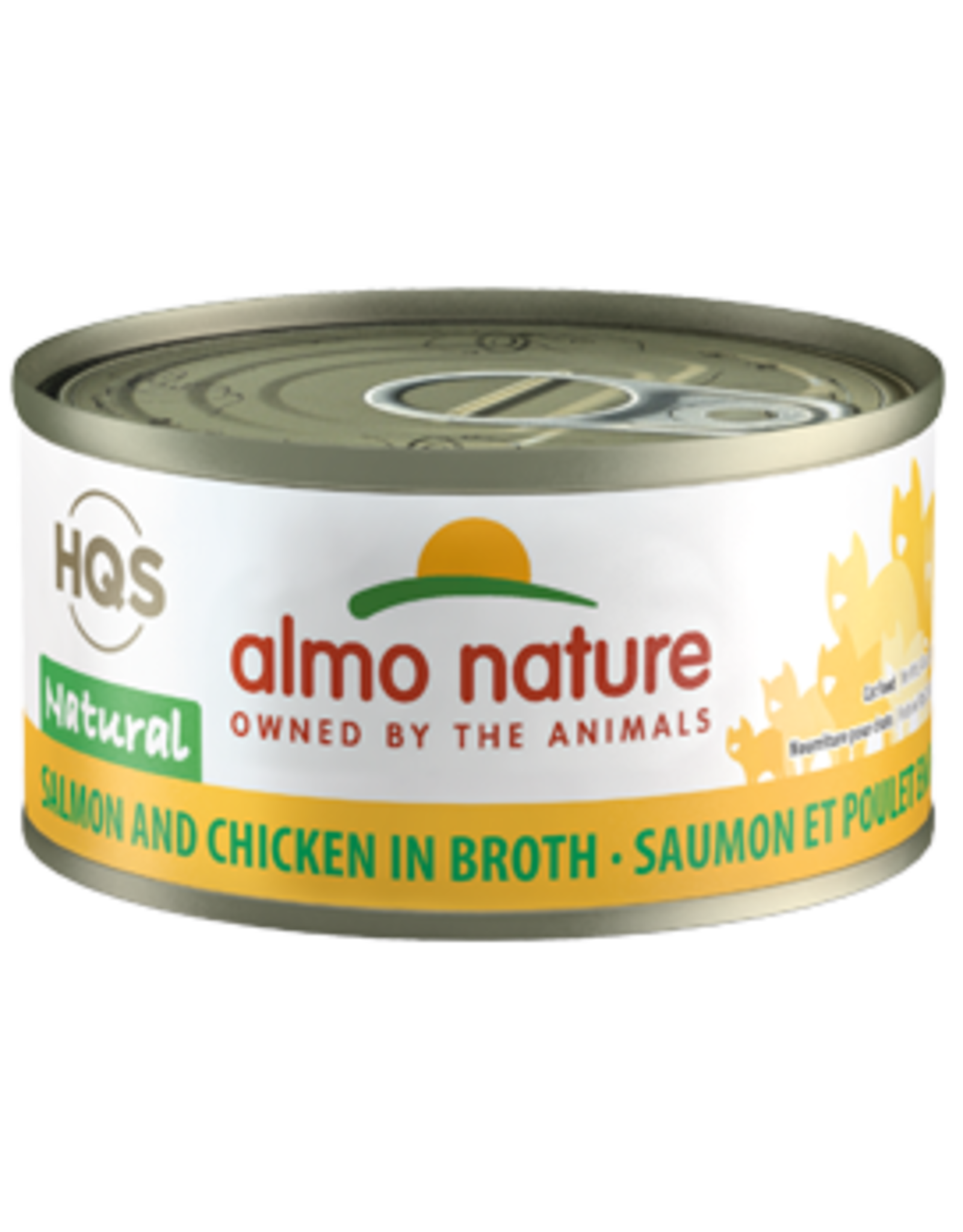 ALMO AlmoNature CAT Natural Salmon and Chicken in Broth 70g