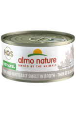 ALMO AlmoNature CAT Natural Tuna and Whitebait Smelt in Broth 70g