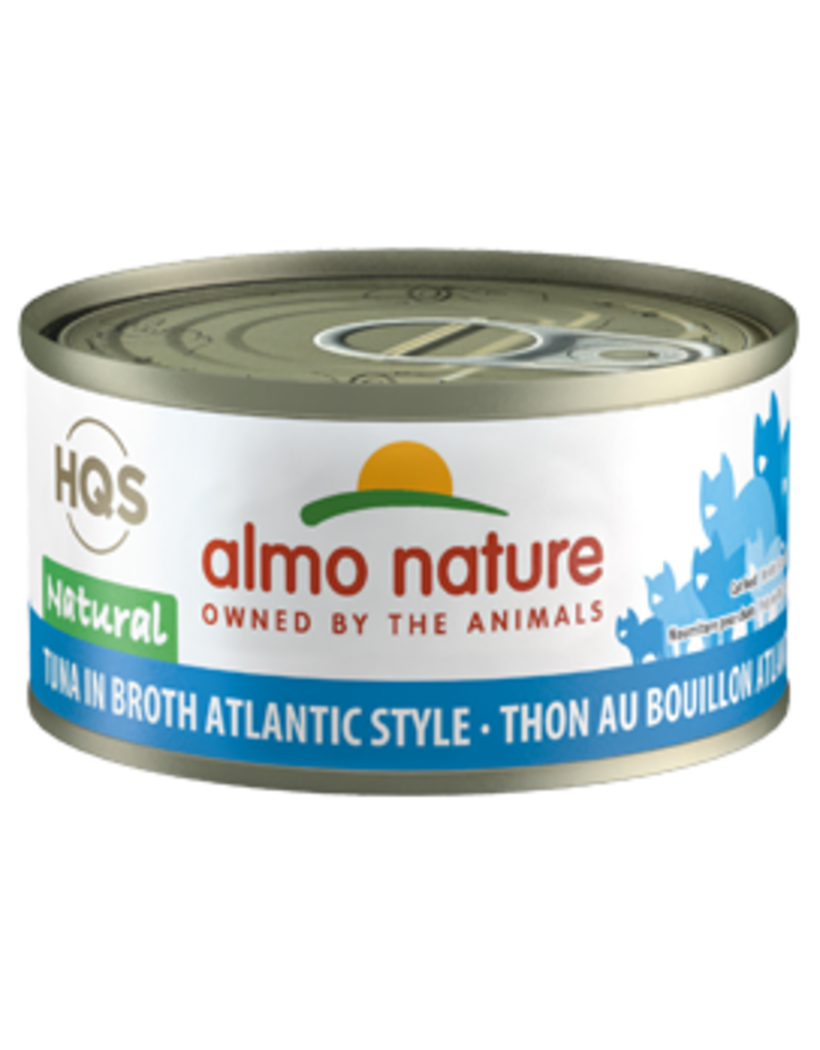 ALMO AlmoNature CAT Natural Tuna in Broth Atlantic Style 70g