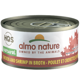 ALMO AlmoNature CAT Natural Chicken w. Shrimp 70g