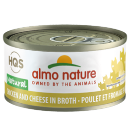 ALMO AlmoNature CAT Natural Chicken w. Cheese 70g