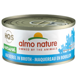 ALMO AlmoNature CAT Natural Mackerel in Broth 70g