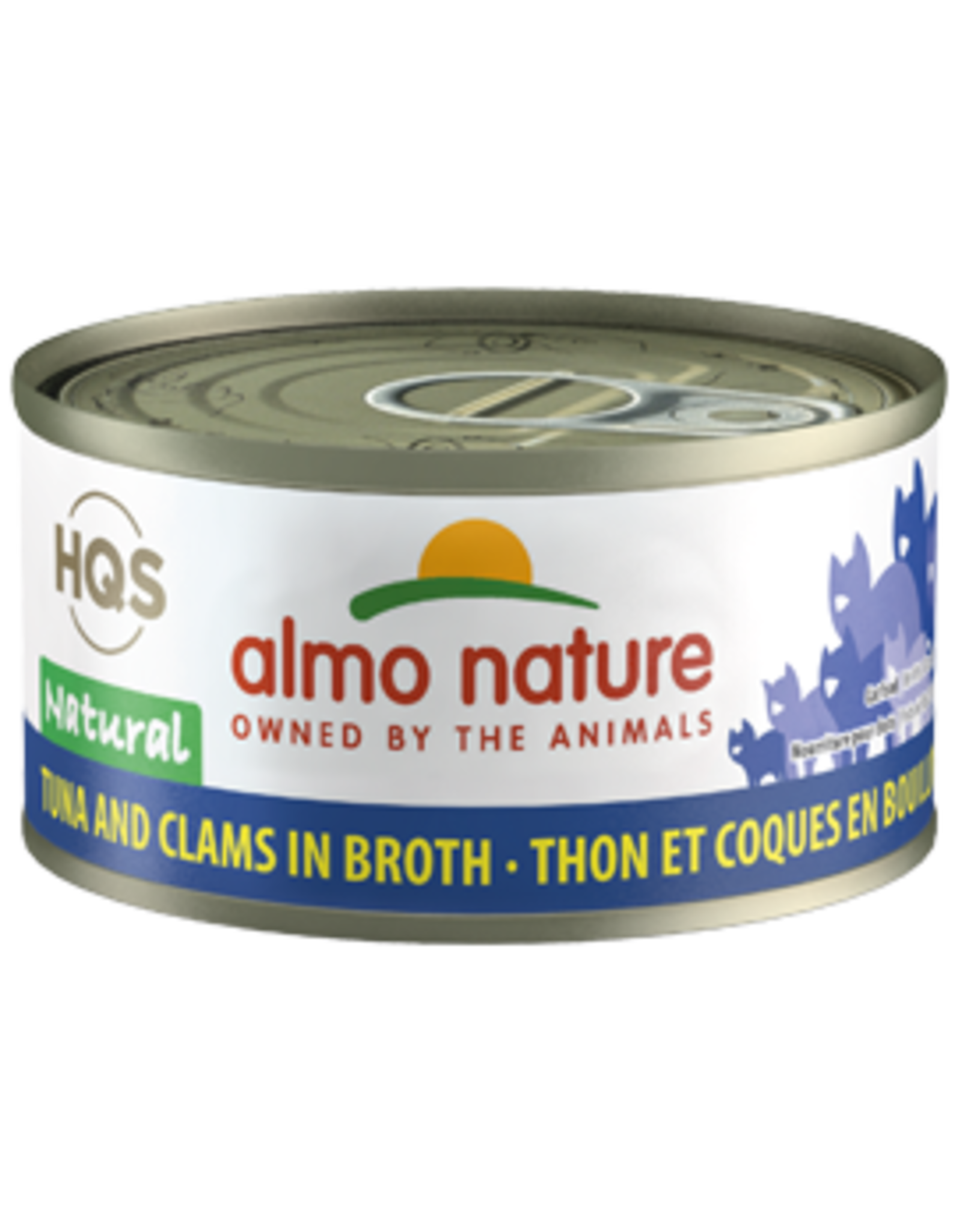 ALMO AlmoNature CAT Natural Tuna and Clam in Broth 70g