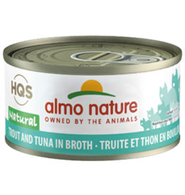 ALMO AlmoNature CAT Natural Trout and Tuna in Broth 70g