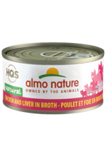 ALMO AlmoNature CAT Natural Chicken and Liver in Broth 70g