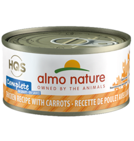 ALMO AlmoNature CAT Complete Chicken w. Carrots in Gravy 70g