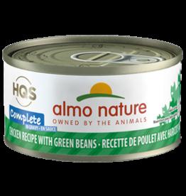 ALMO AlmoNature CAT Complete Chicken w. Green Beans in Gravy 70g