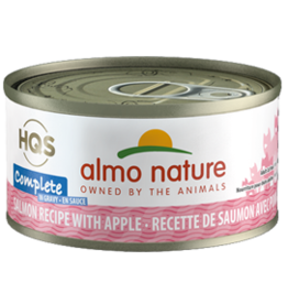 ALMO AlmoNature CAT Complete Salmon w. Apple in Gravy 70g
