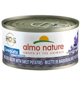 ALMO AlmoNature CAT Complete Mackerel w. Sweet Potato in Gravy 70g