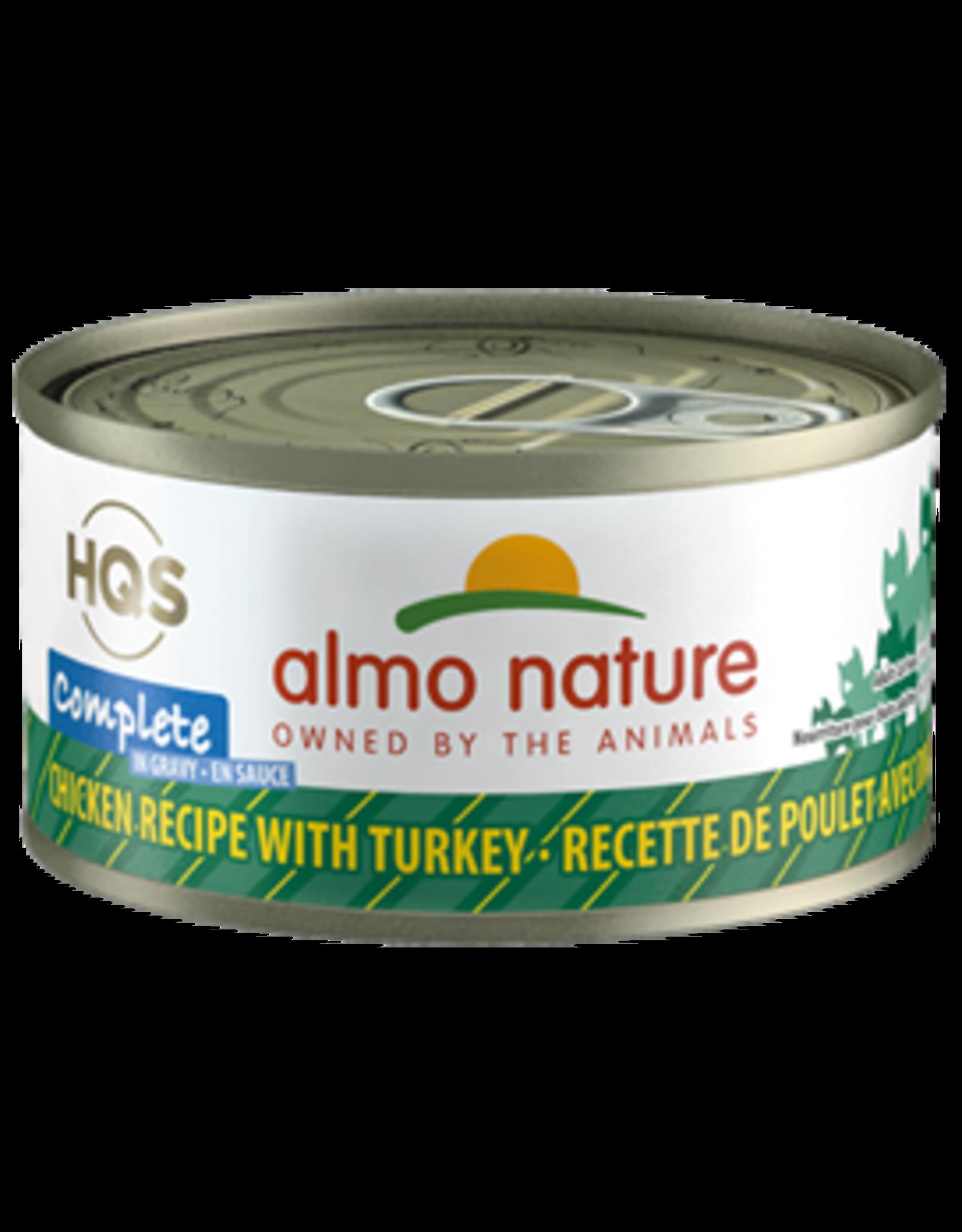 ALMO AlmoNature CAT Complete Chicken w. Turkey in Gravy 70g