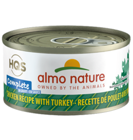 ALMO AlmoNature CAT Complete Chicken w. Turkey in Gravy 70g