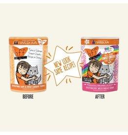 BFF BFF Pouch - Tuna & Salmon Sweet-Cheeks for Cats 3.0oz