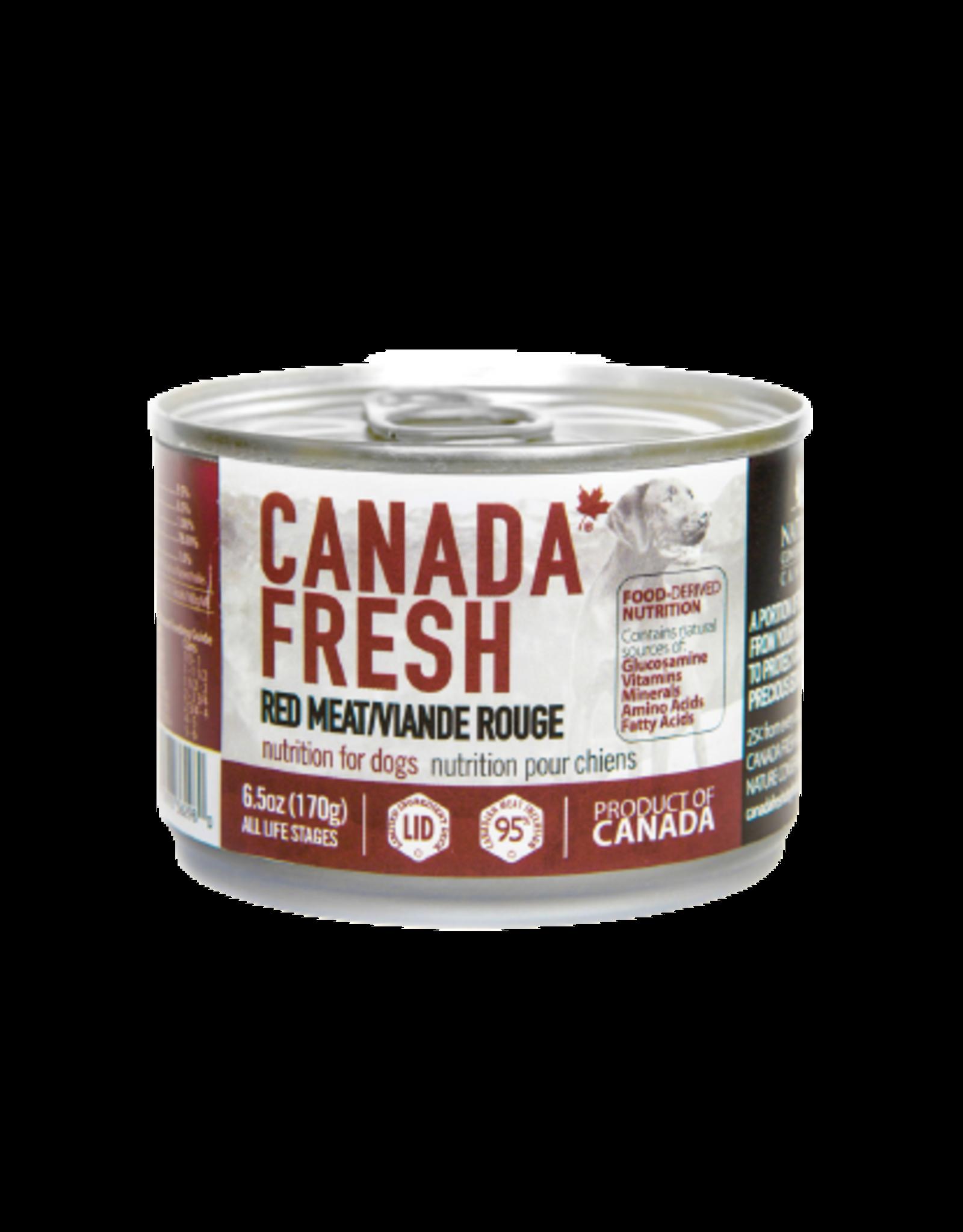 PETKIND CanadaFresh DOG Red Meat 6.5oz