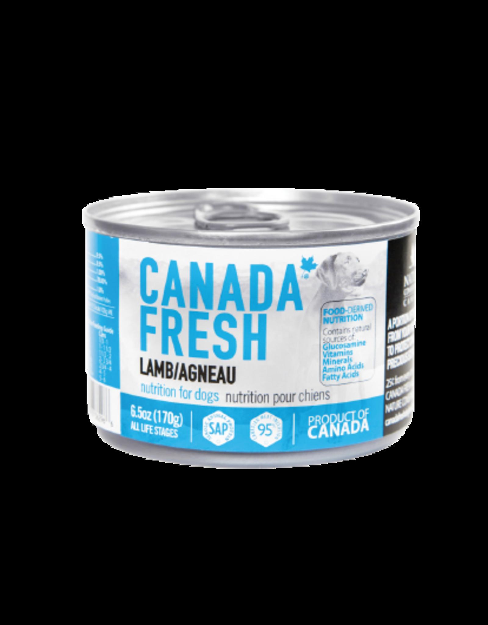 PETKIND CanadaFresh DOG Lamb 6.5oz