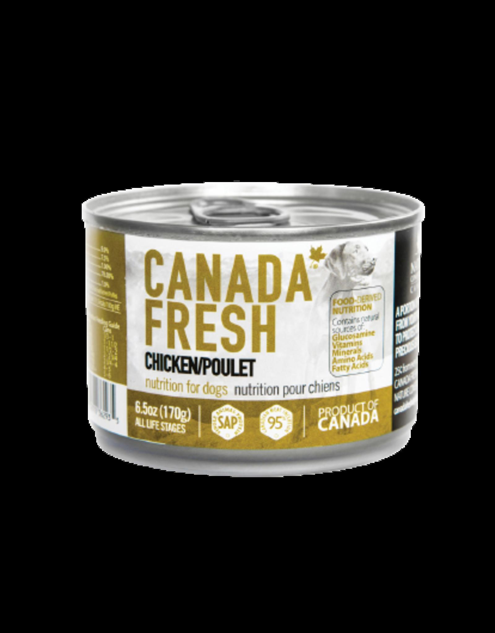 PETKIND CanadaFresh DOG Chicken 6.5oz