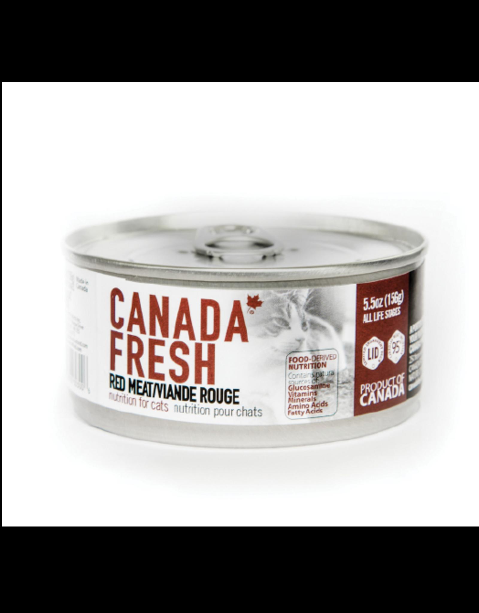 PETKIND CanadaFresh CAT Red Meat 5.5oz
