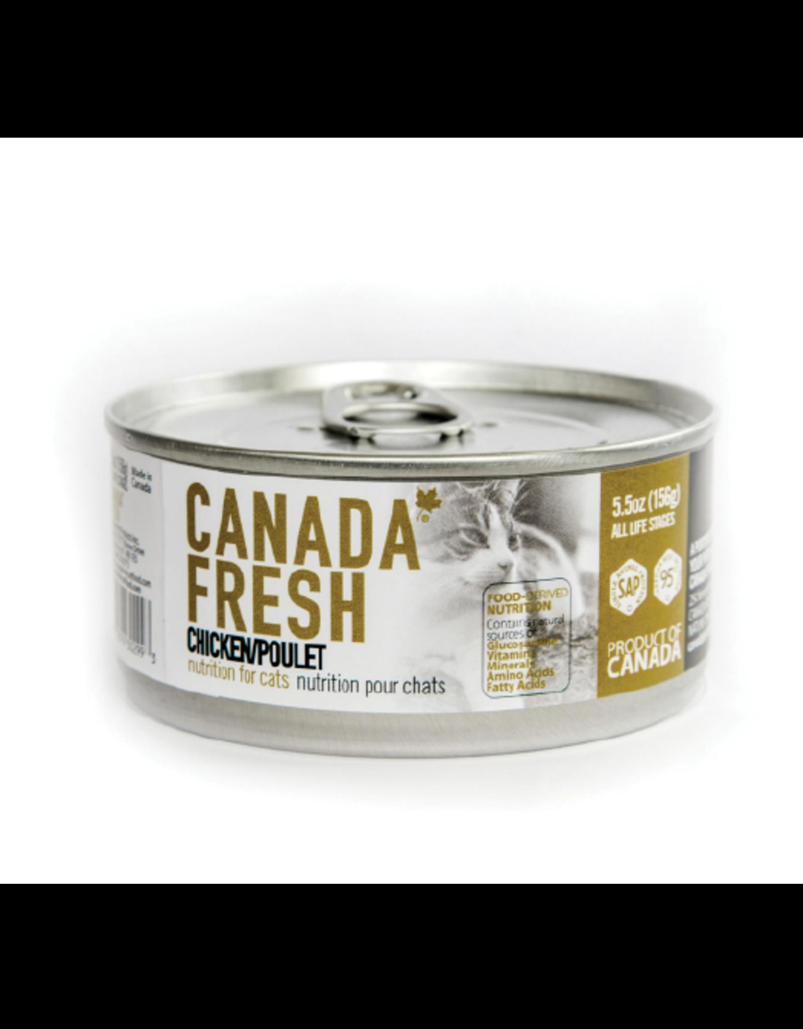 PETKIND CanadaFresh CAT Chicken 5.5oz