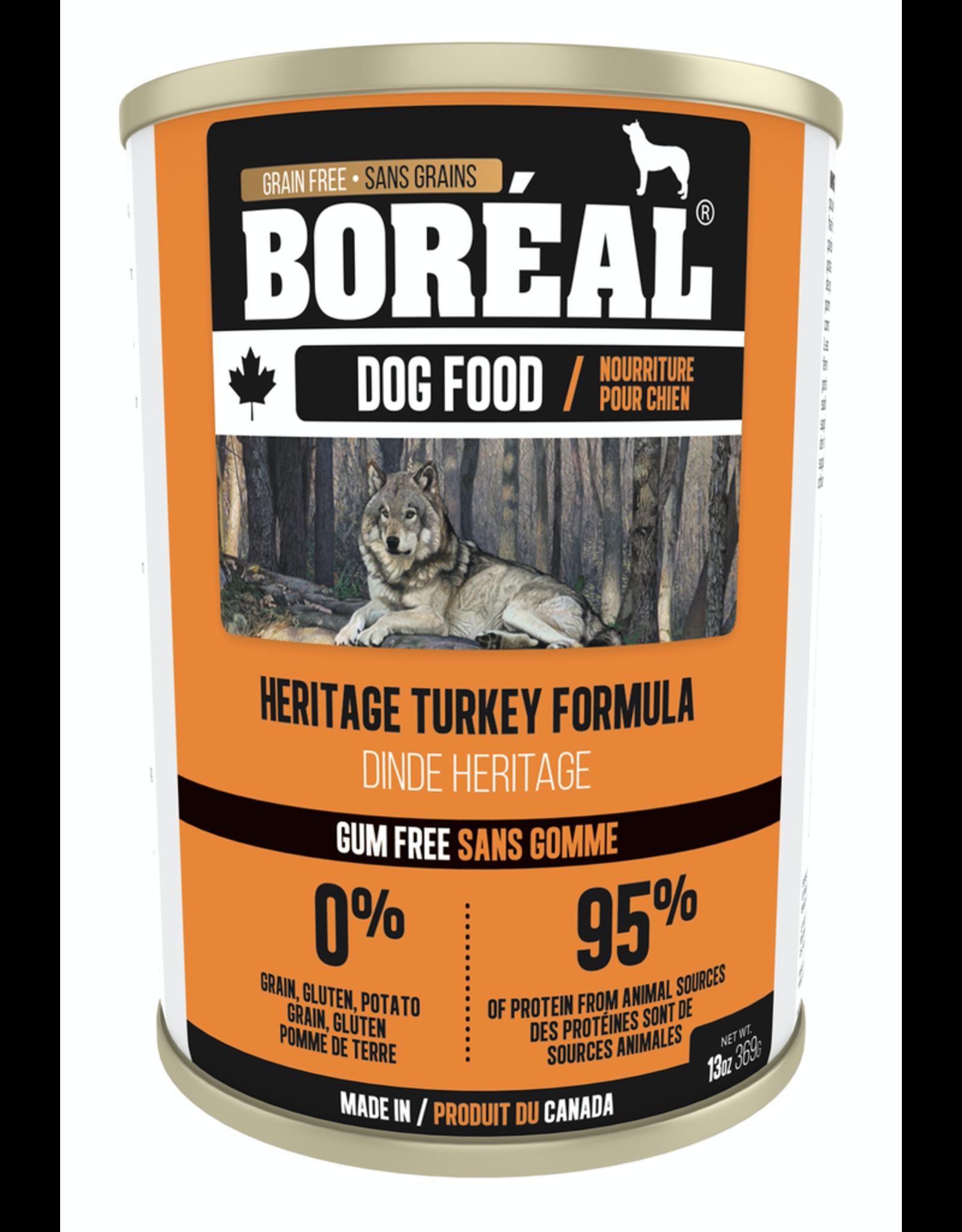 BOREAL BOREAL Dog - Heritage Turkey 369g