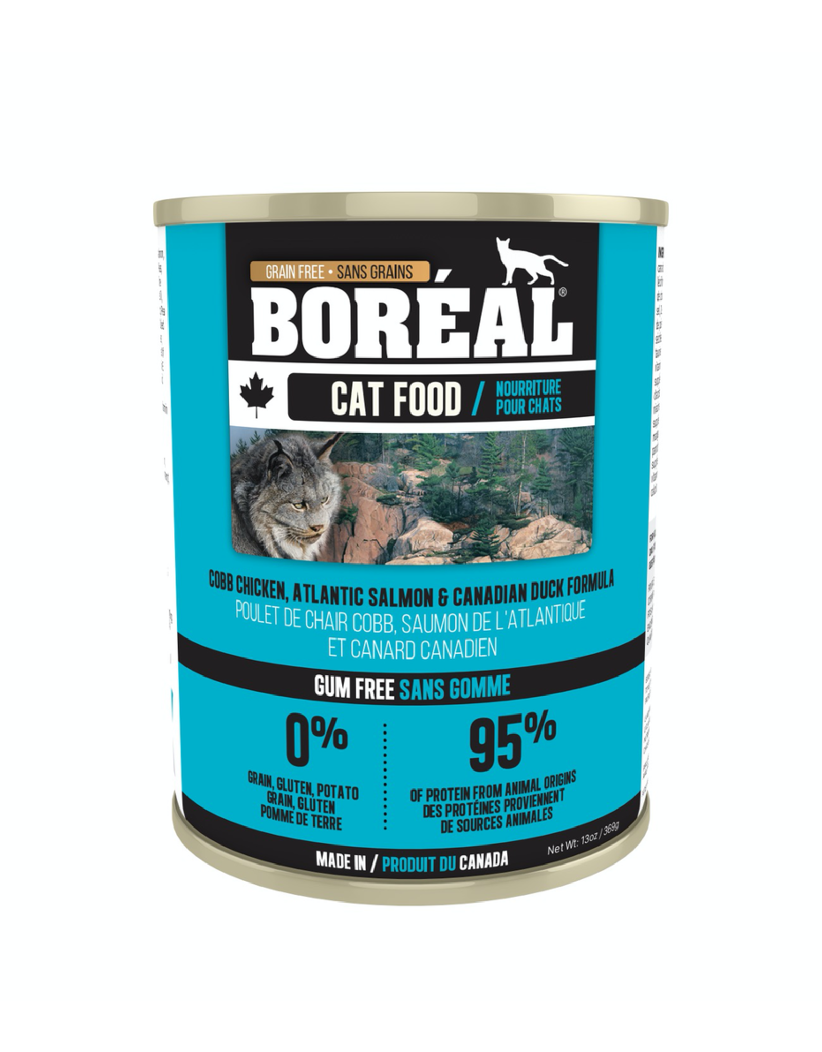 BOREAL BOREAL Cat Cobb Chicken, Atlantice Salmon & Canadian Duck 156g