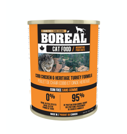 BOREAL BOREAL Cat Cobb Chicken & Heritage Turkey 156g