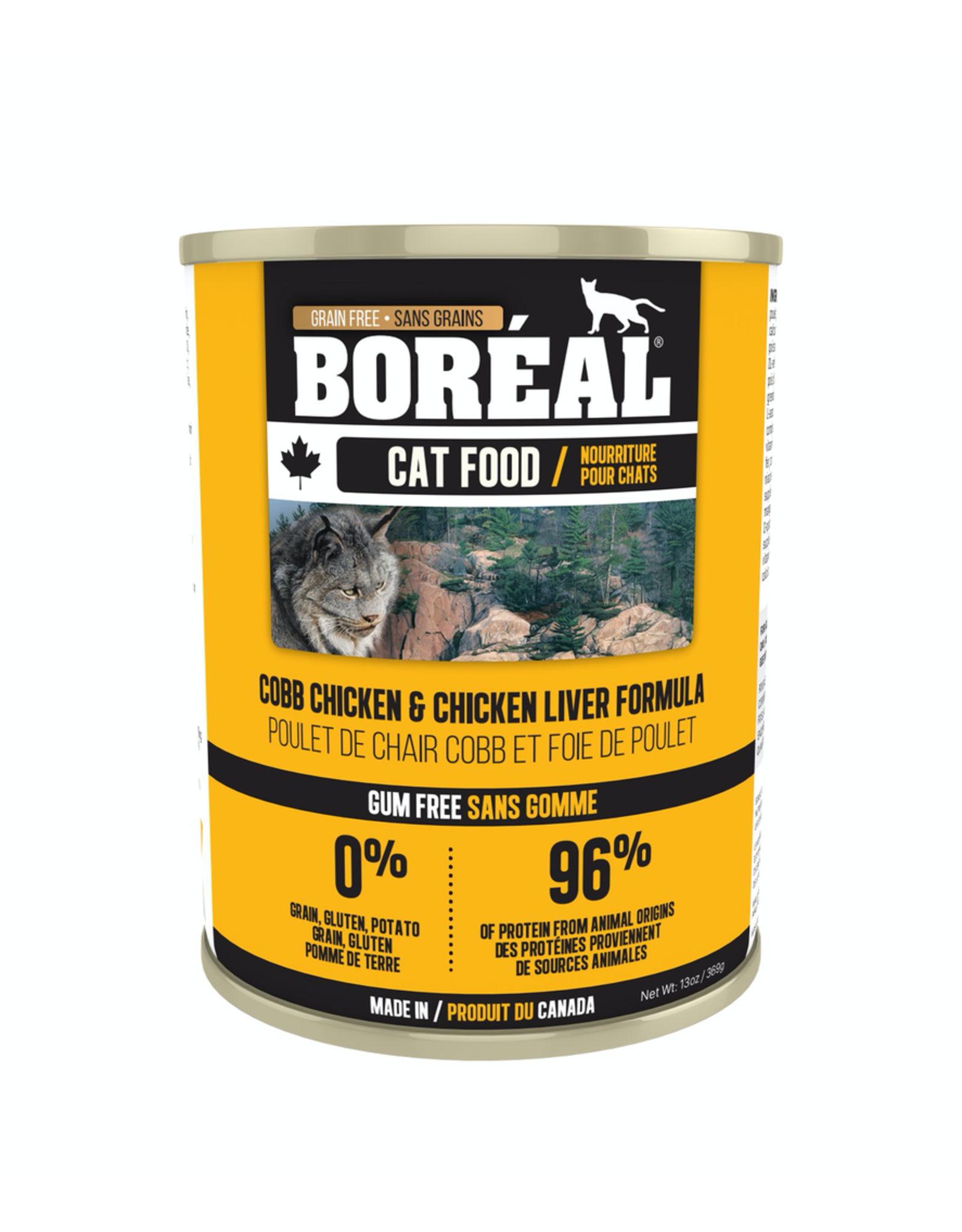 BOREAL BOREAL Cat Cobb Chicken & Chicken Liver 156g