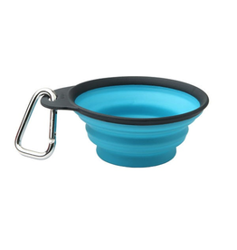 Dexas Dexas Collapsible Travel 1 Cup ProBlue