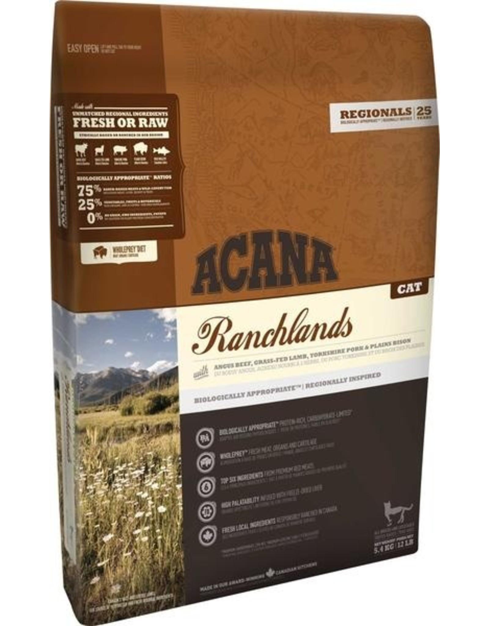 ACANA Acana CAT Regionals - Ranchlands 5.4kg