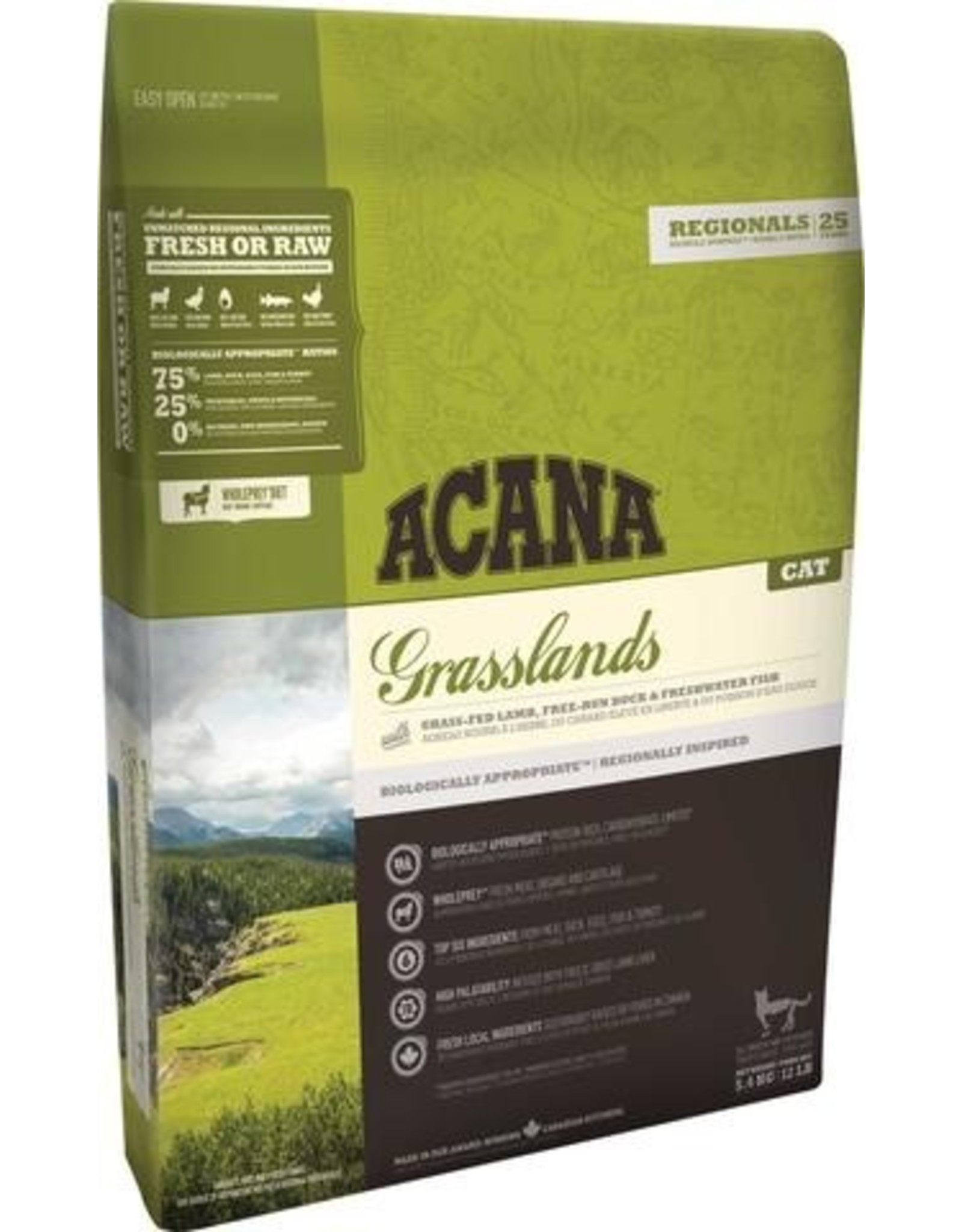 ACANA Acana CAT Regionals - Grasslands 4.5kg