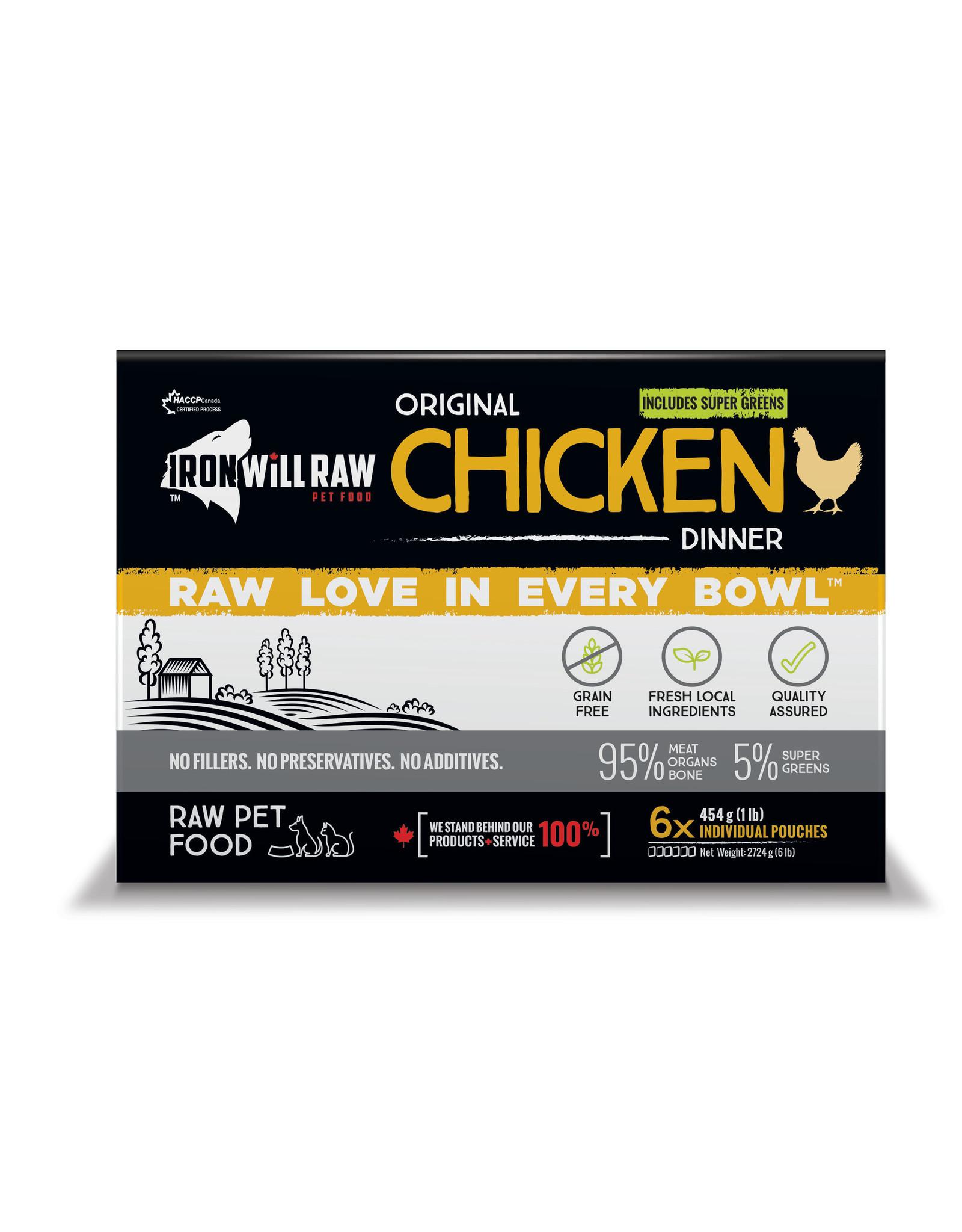 Iron Will Raw Iron Will Original Chicken Dinner 6lb Box