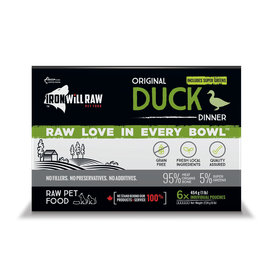 Iron Will Raw Iron Will Original Duck Dinner 6lb Box
